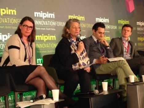 Avec de gauche à droite : Sigrid Duhamel, Florence Peronnau, Clément Bérardi et Benoit Bardet