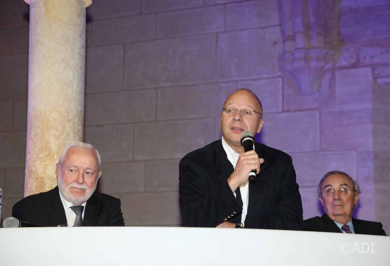Jean-Louis Dumont, Guillaume Poitrinal et Hervé Maupin