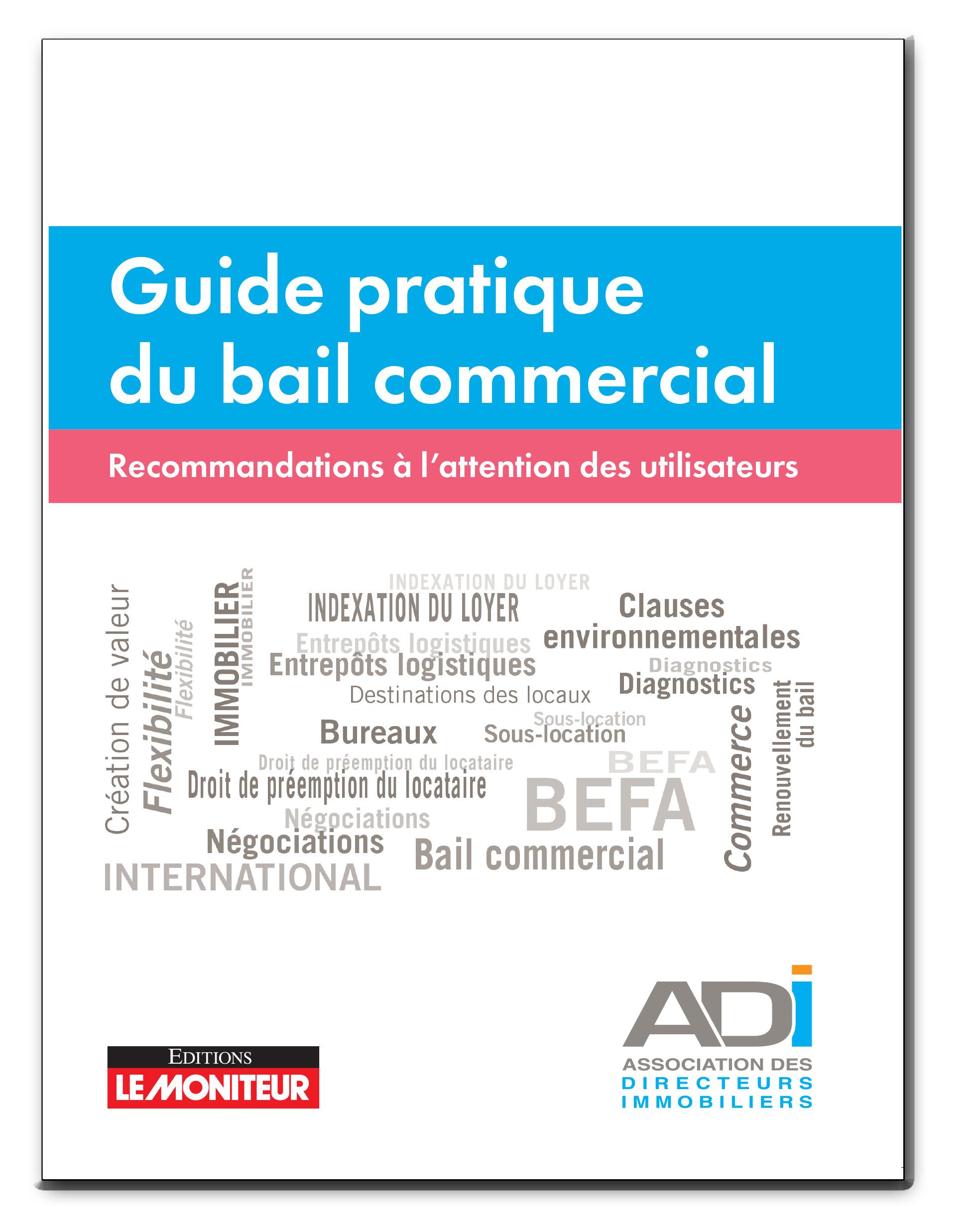 Guide pratique du bail commercial
