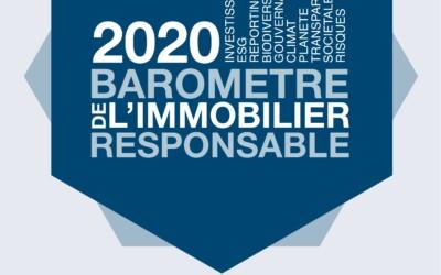 Baromètre 2020 de l'Immobilier Responsable et Guide des 19 enjeux pour un immobilier responsable